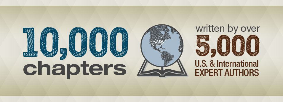 10,000 Chapters written by over 5,000 Authors