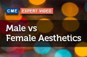 Male versus Female Aesthetics