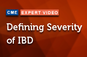 Defining Severity of IBD