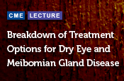 Breakdown of Treatment Options for Dry Eye and Meibomian Gland Disease
