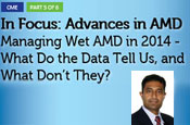 In Focus: Advances in AMD – Managing Wet AMD in 2014 - What Do the Data Tell Us, and What Don't They?