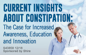 Current Insights About Constipation: The Case for Increased Awareness, Education and Innovation