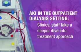 Acute Kidney Injury in the Outpatient Dialysis Setting