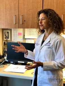 """""""Overall, we need more data on what a personalized target level should be, at different time of the disease process, before we can justify having proactive TDM standard of practice,"""" Aline Charabaty, MD, said."""