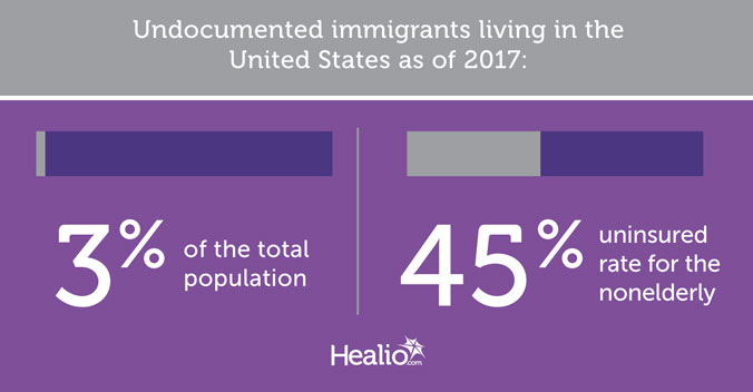 Undocumented immigrants living in the United States as of 2017