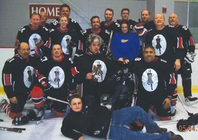 Greater Buffalo Senior Hockey Invitational 2008 Champions, the Black Knights