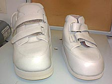 Ankle-foot orthosis and custom shoe
