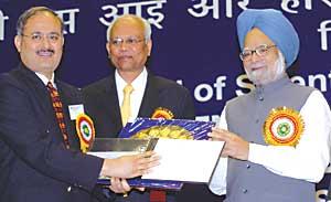 Dr. Sangwan receives the Bhatnagar award