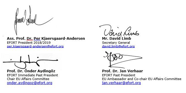EFORT signatures