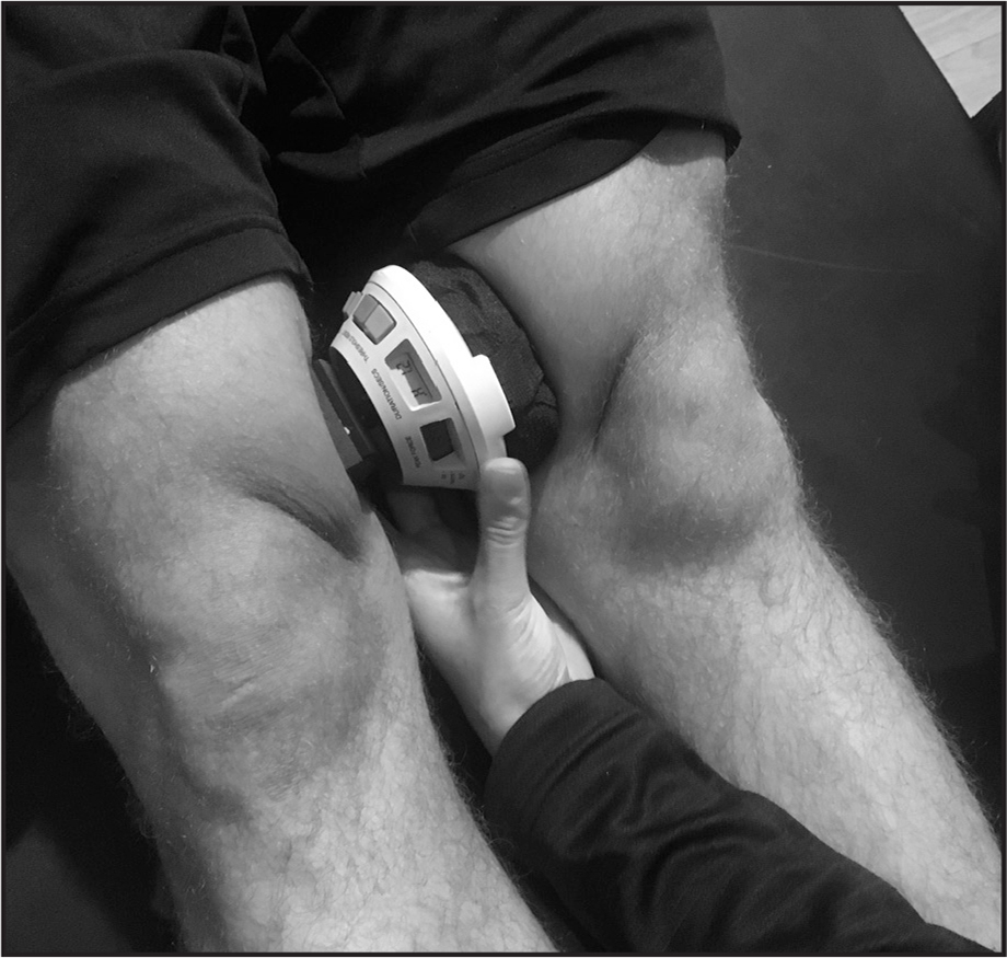 Adductor longus maximal voluntary isometric contraction (MVIC) trial.