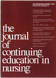 The Journal of Continuing Education in Nursing