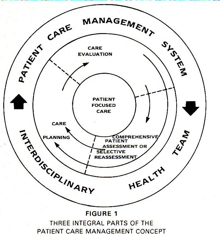1THREE INTEGRAL PARTS OF THE PATIENT CARE MANAGEMENT CONCEPT
