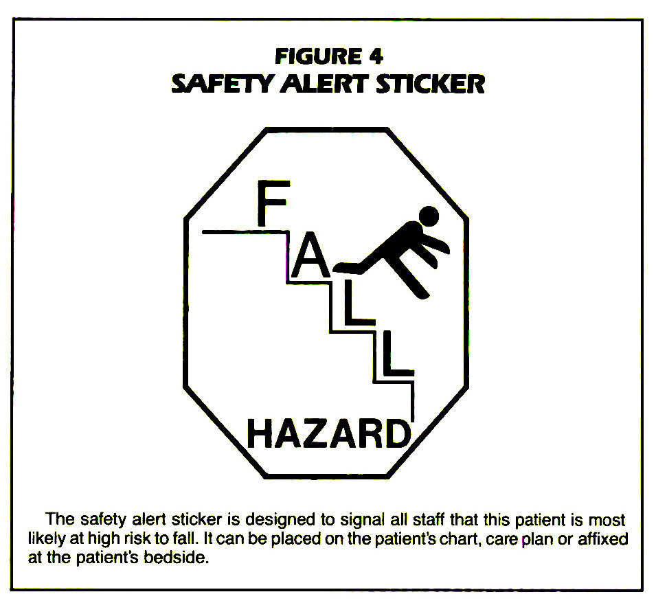 FIGURE 4SAFETY ALERT STICKER