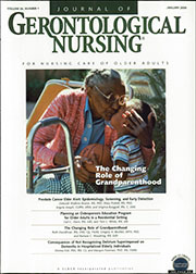 Journal of Gerontological Nursing