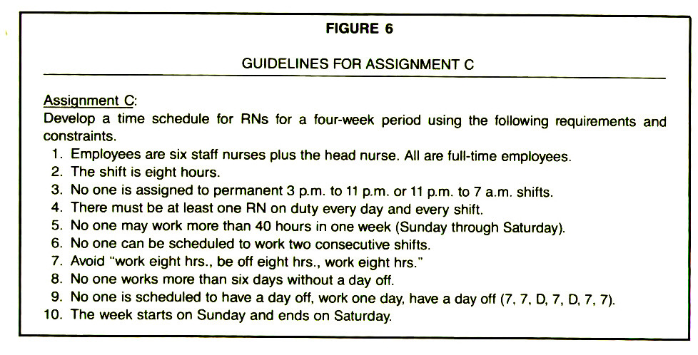 FIGURE 6GUIDELINES FOR ASSIGNMENT C