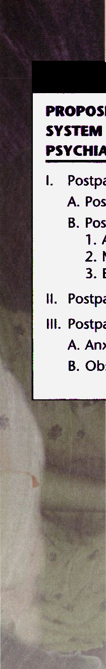 Identification and Classification of Postpartum ...