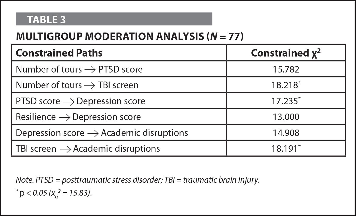 Multigroup Moderation Analysis (N = 77)