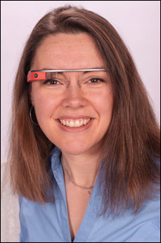 "Heather L. Evans, MD, said Google Glass has ""great potential,"" but challenges remain."
