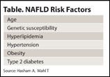 NAFLD Table