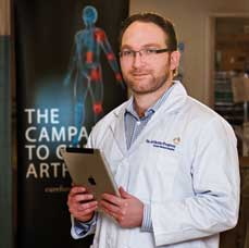 Christian Veillette, MSc, MD, FRCSC, believes that in the future mobile health will enable orthopedists to monitor patients' mobility after a procedure and automatically synchronize the data with patients' health records.