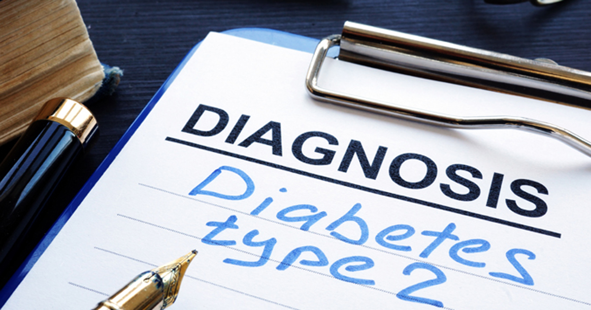 Type 2 diabetes diagnosis 2019 adobe